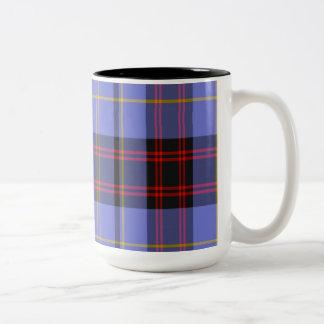 Rutherford Scottish Tartan Two-Tone Coffee Mug