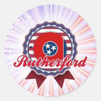 Rutherford, TN Classic Round Sticker