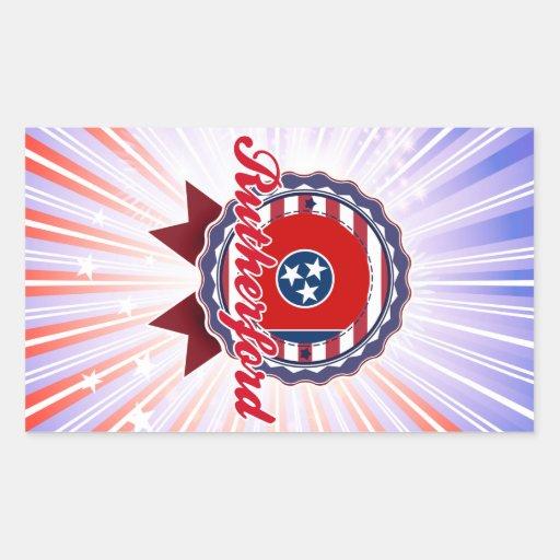 Rutherford, TN Rectangular Sticker