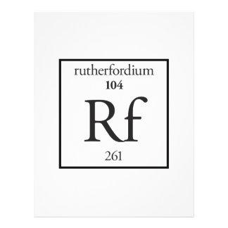 Rutherfordium Flyers