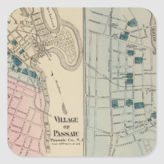 Rutherfurd Park, Passaic, Hackensack Square Sticker