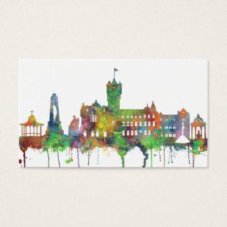 RUTHERGLEN, SCOTLAND SKYLINE BUSINESS CARD