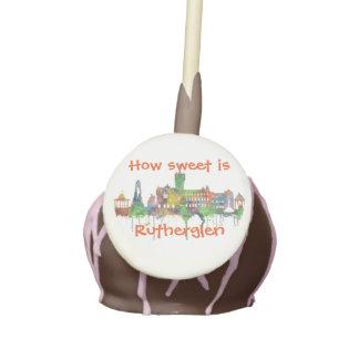 RUTHERGLEN, SCOTLAND SKYLINE CAKE POPS
