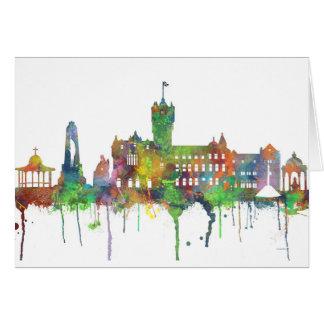 RUTHERGLEN, SCOTLAND SKYLINE CARD