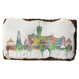 RUTHERGLEN, SCOTLAND SKYLINE CHOCOLATE BROWNIE