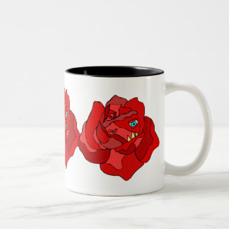 RUTHLESS  ROSE CUP COFFEE MUGS