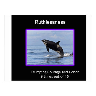 Ruthlessness Postcard