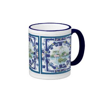 Ruth's lilly pads ringer coffee mug