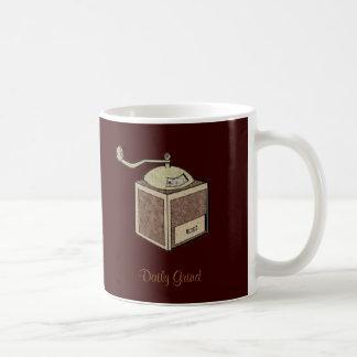Rutina diaria taza de café