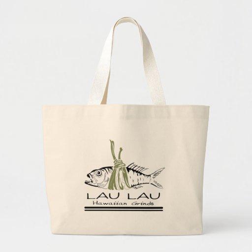 Rutinas del Hawaiian de Lau Lau Bolsas De Mano