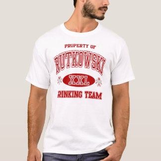 Rutkowski Polish Drinking Team T-Shirt
