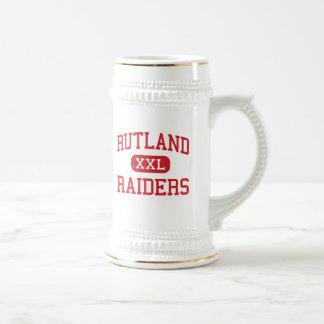 Rutland - asaltantes entrenados para la lucha cuer taza