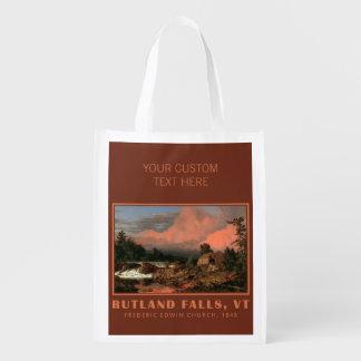 """Rutland de la iglesia """"baja"""" bolso reutilizable de bolsa para la compra"""