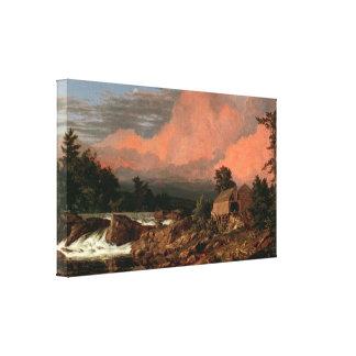 """Rutland de la iglesia """"baja"""" impresión de la lona lona estirada galerias"""