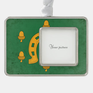 Rutland Silver Plated Framed Ornament