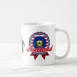 Rutland, VT Tazas De Café