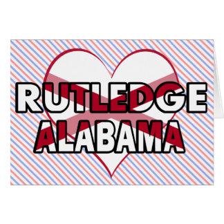 Rutledge, Alabama Card
