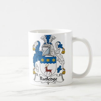 Rutledge Family Crest Coffee Mug