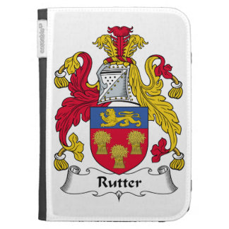 Rutter Family Crest Kindle 3G Cover