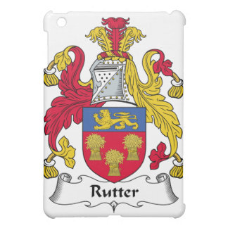 Rutter Family Crest Cover For The iPad Mini