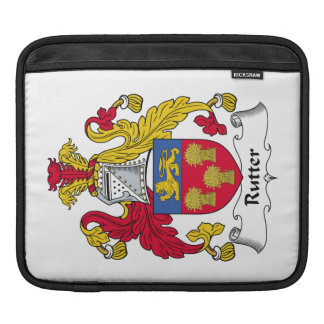 Rutter Family Crest Sleeves For iPads