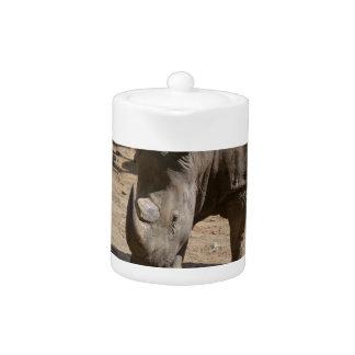 Rutting Rhino Teapot
