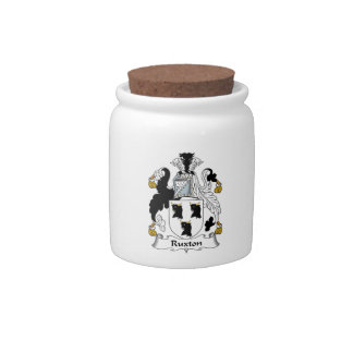 Ruxton Family Crest Candy Jars