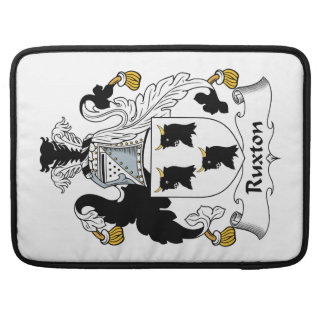 Ruxton Family Crest Sleeve For MacBook Pro