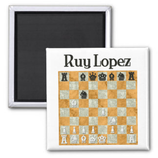Ruy Lopez Refrigerator Magnets