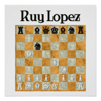 Ruy Lopez Poster