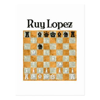 Ruy López Tarjetas Postales
