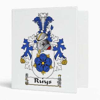 Ruys Family Crest Binder