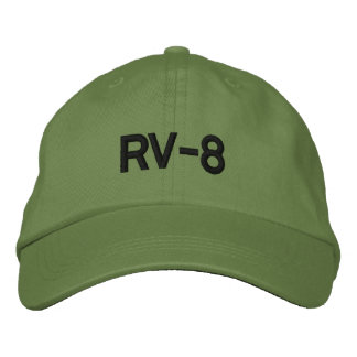RV-8 EMBROIDERED HATS