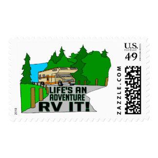 RV Adventure Postage