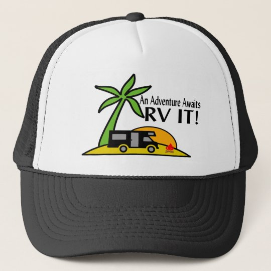 RV Adventure Trucker Hat