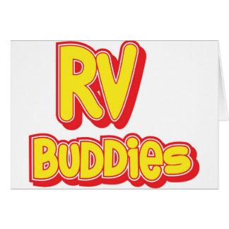 RV Buddies Big Logo Greeting Cards