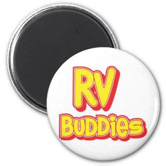 RV Buddies Big Logo Magnets