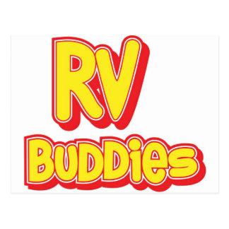 RV Buddies Big Logo Post Cards