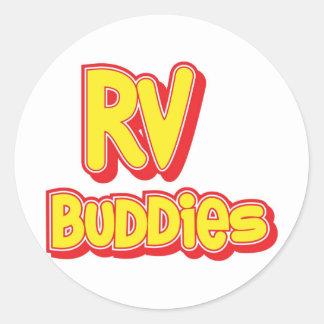 RV Buddies Big Logo Stickers