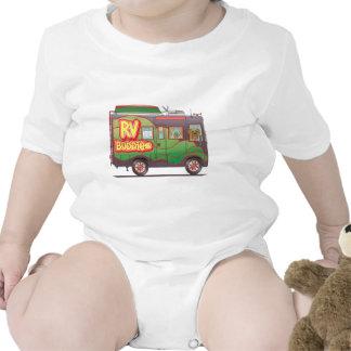 RV Buddies Camper Trailer RV Baby Bodysuit