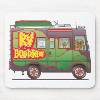RV Buddies Camper Trailer RV Mousepad