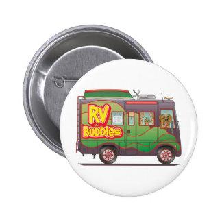 RV Buddies Camper Trailer RV Pinback Buttons