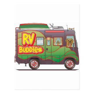 RV Buddies Camper Trailer RV Post Card