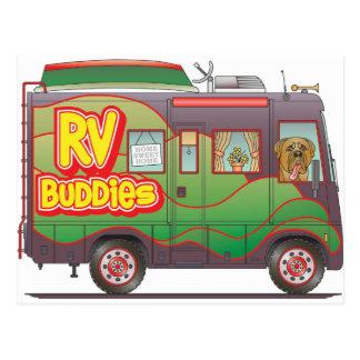 RV Buddies Camper Trailer RV Post Cards