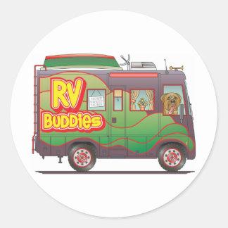 RV Buddies Camper Trailer RV Sticker