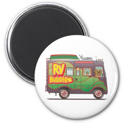 RV Buddies Refrigerator Magnet