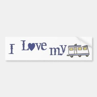 RV / Camper Love Lifestyle Bumper Sticker