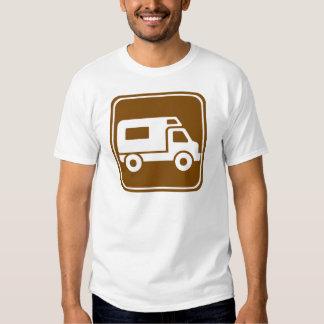 RV Campground Highway Sign T-shirt