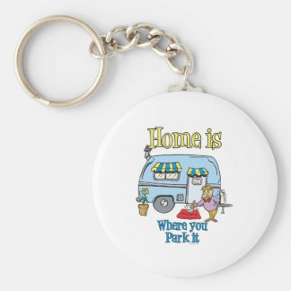 Rv Camping Keychain