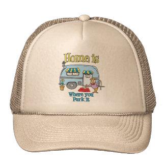 Rv Camping Mesh Hats